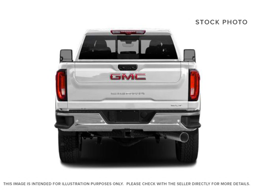 Blue[Pacific Blue Metallic] 2020 GMC Sierra 2500HD Rear of Vehicle Photo in Fort Macleod AB