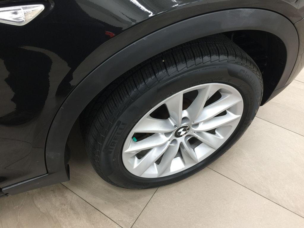 Black[Black Sapphire Metallic] 2013 BMW X3 35I XDRIVE Right Front Rim and Tire Photo in Sherwood Park AB