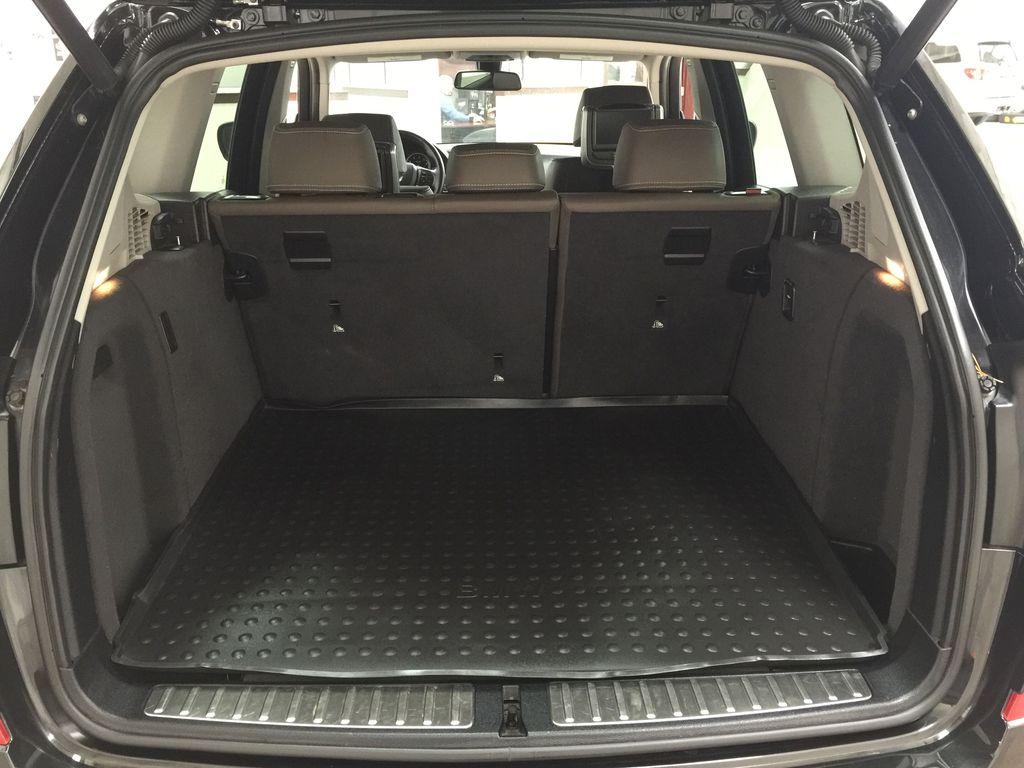 Black[Black Sapphire Metallic] 2013 BMW X3 35I XDRIVE Cargo Area/Rear Seats Photo in Sherwood Park AB