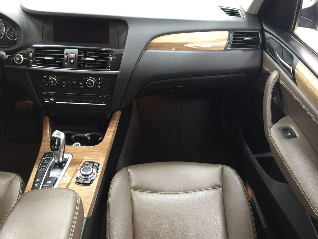 Black[Black Sapphire Metallic] 2013 BMW X3 35I XDRIVE Right Front Seat Photo in Sherwood Park AB