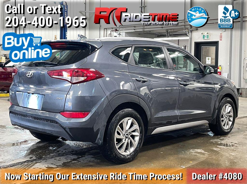 Gray[Coliseum Grey] 2018 Hyundai Tucson Premium AWD - Heated Seats, Backup Camera Right Rear Corner Photo in Winnipeg MB
