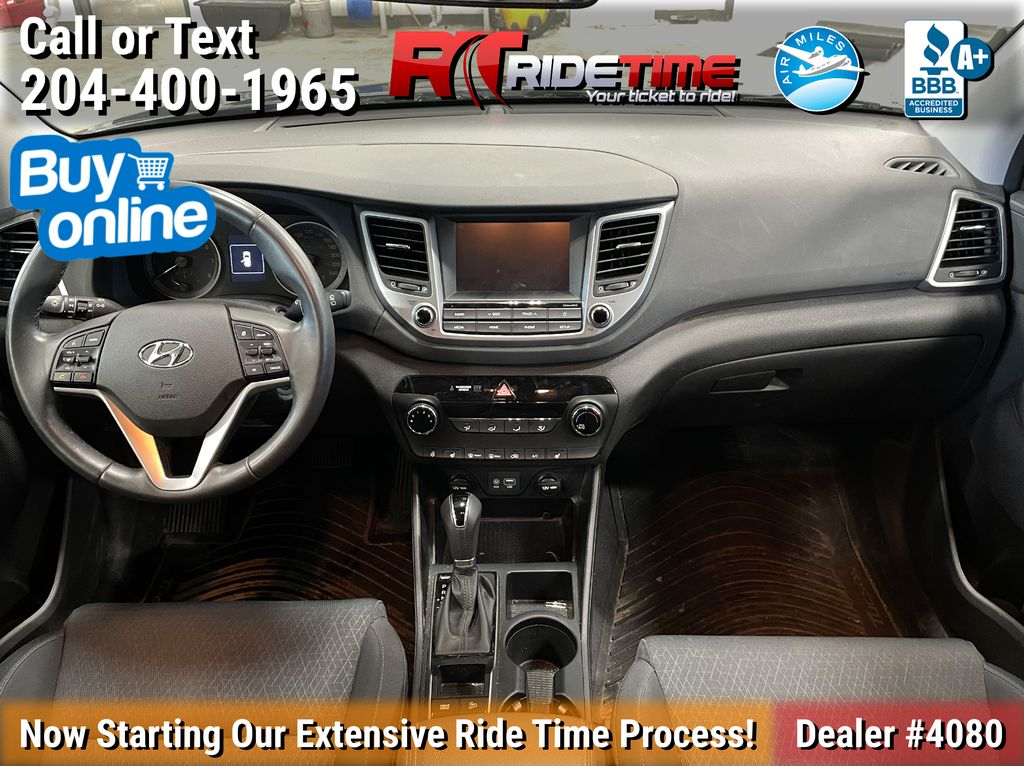 Gray[Coliseum Grey] 2018 Hyundai Tucson Premium AWD - Heated Seats, Backup Camera Central Dash Options Photo in Winnipeg MB