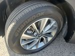 Blue[Stormy Sea] 2019 Hyundai Santa Fe Left Front Rim and Tire Photo in Kelowna BC