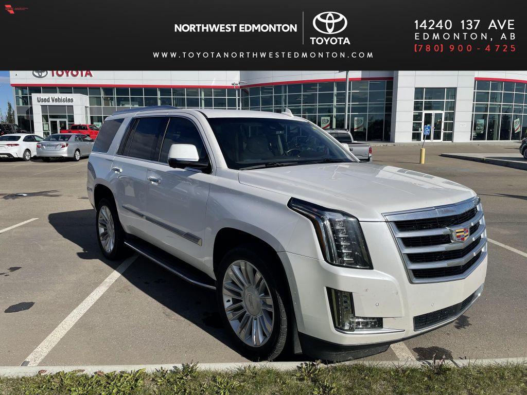 White 2016 Cadillac Escalade Premium Collection