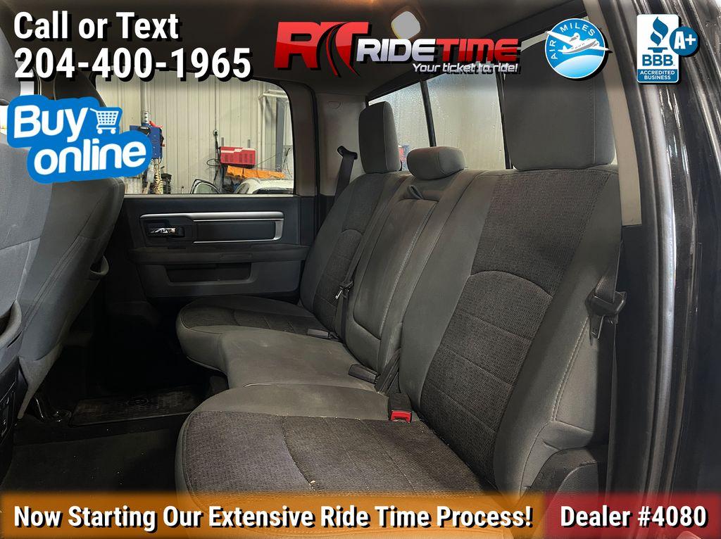 Black[Black] 2015 Ram 1500 Left Side Rear Seat  Photo in Winnipeg MB