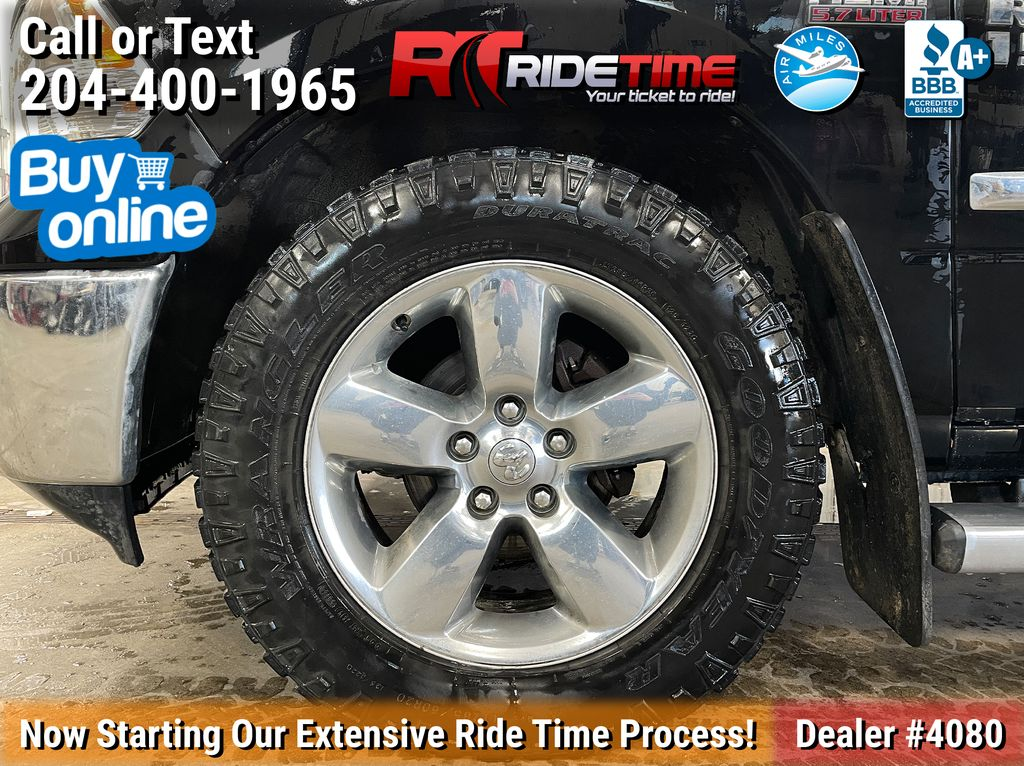 Black[Black] 2015 Ram 1500 Left Front Rim and Tire Photo in Winnipeg MB