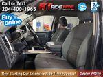 Black[Black] 2015 Ram 1500 Left Front Interior Photo in Winnipeg MB