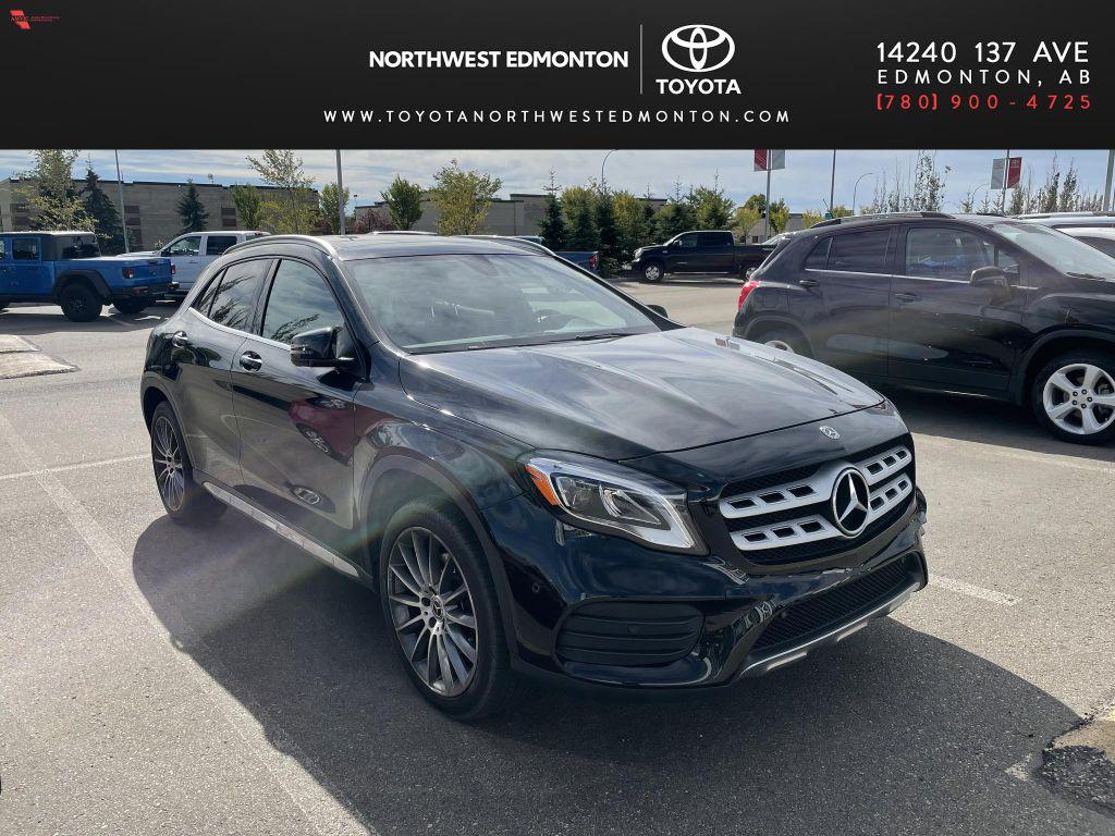 Black 2018 Mercedes-Benz GLA GLA 250