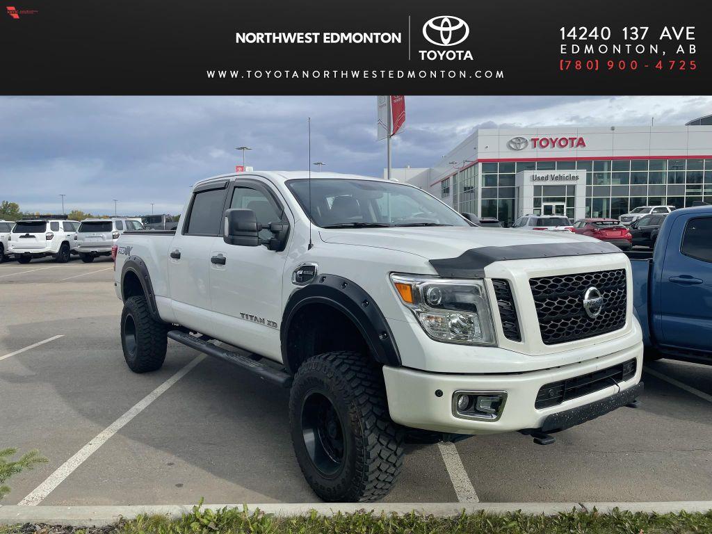 White 2017 Nissan Titan XD PRO-4X
