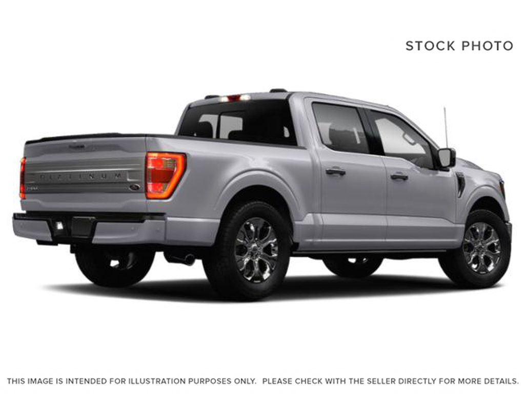 White[Oxford White] 2021 Ford F-150 Right Rear Corner Photo in Fort Macleod AB