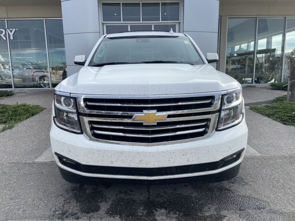 White[Summit White] 2016 Chevrolet Tahoe LT Front Vehicle Photo in Calgary AB