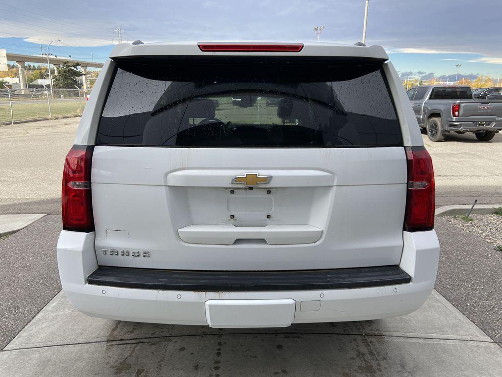 White[Summit White] 2016 Chevrolet Tahoe LT Rear of Vehicle Photo in Calgary AB