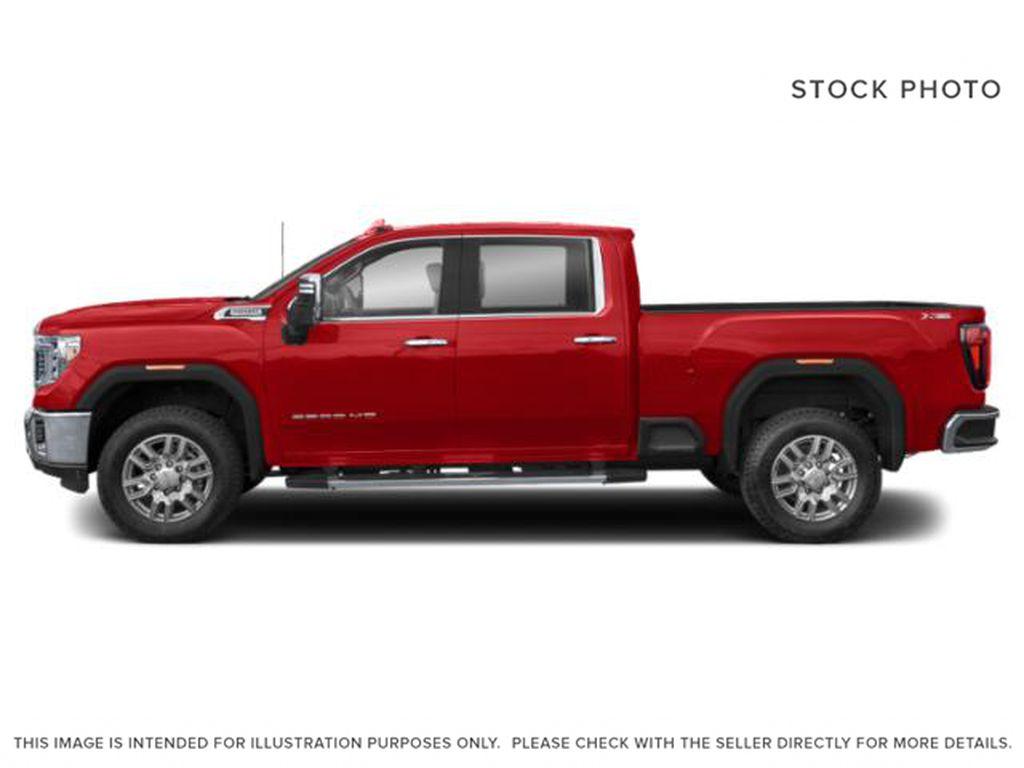 Red[Cayenne Red Tintcoat] 2022 GMC Sierra 3500HD Left Side Photo in Edmonton AB