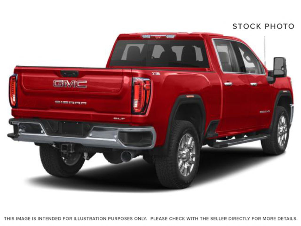 Red[Cayenne Red Tintcoat] 2022 GMC Sierra 3500HD Right Rear Corner Photo in Edmonton AB