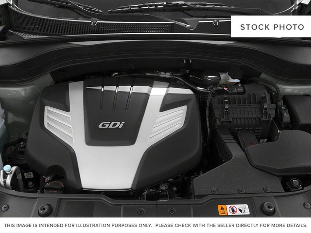 Silver[Satin Metal Metallic] 2015 Kia Sorento Engine Compartment Photo in Lethbridge AB