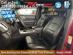 Red[Ruby Red Metallic Tinted Clearcoat] 2014 Ford Explorer XLT 4WD - Leather, Navigation, 7 Passenger Left Front Interior Photo in Winnipeg MB
