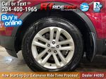 Red[Ruby Red Metallic Tinted Clearcoat] 2014 Ford Explorer XLT 4WD - Leather, Navigation, 7 Passenger Left Front Rim and Tire Photo in Winnipeg MB