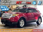 Red[Ruby Red Metallic Tinted Clearcoat] 2014 Ford Explorer XLT 4WD - Leather, Navigation, 7 Passenger Primary Photo in Winnipeg MB