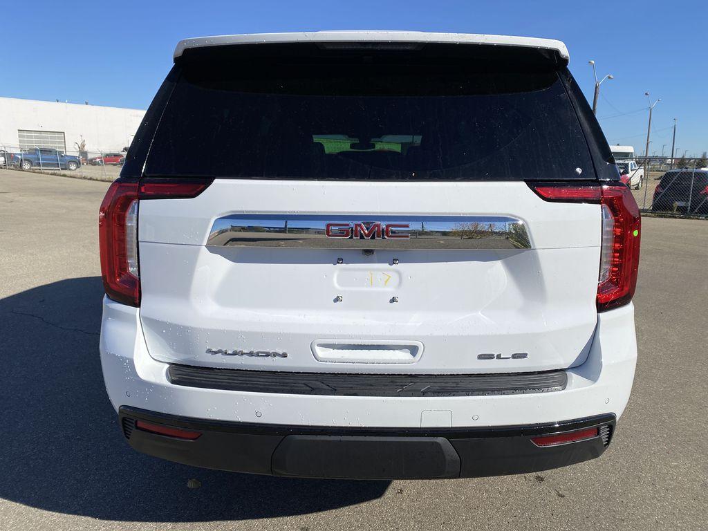 White[Summit White] 2021 GMC Yukon XL Rear of Vehicle Photo in Edmonton AB