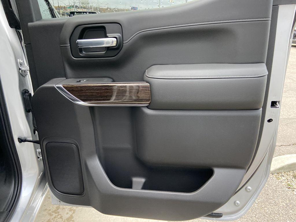 Silver[Quicksilver Metallic] 2021 GMC Sierra 1500 Elevation Right Rear Interior Door Panel Photo in Calgary AB