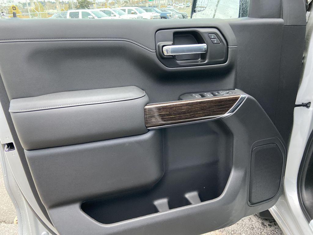 Silver[Quicksilver Metallic] 2021 GMC Sierra 1500 Elevation Left Front Interior Door Panel Photo in Calgary AB