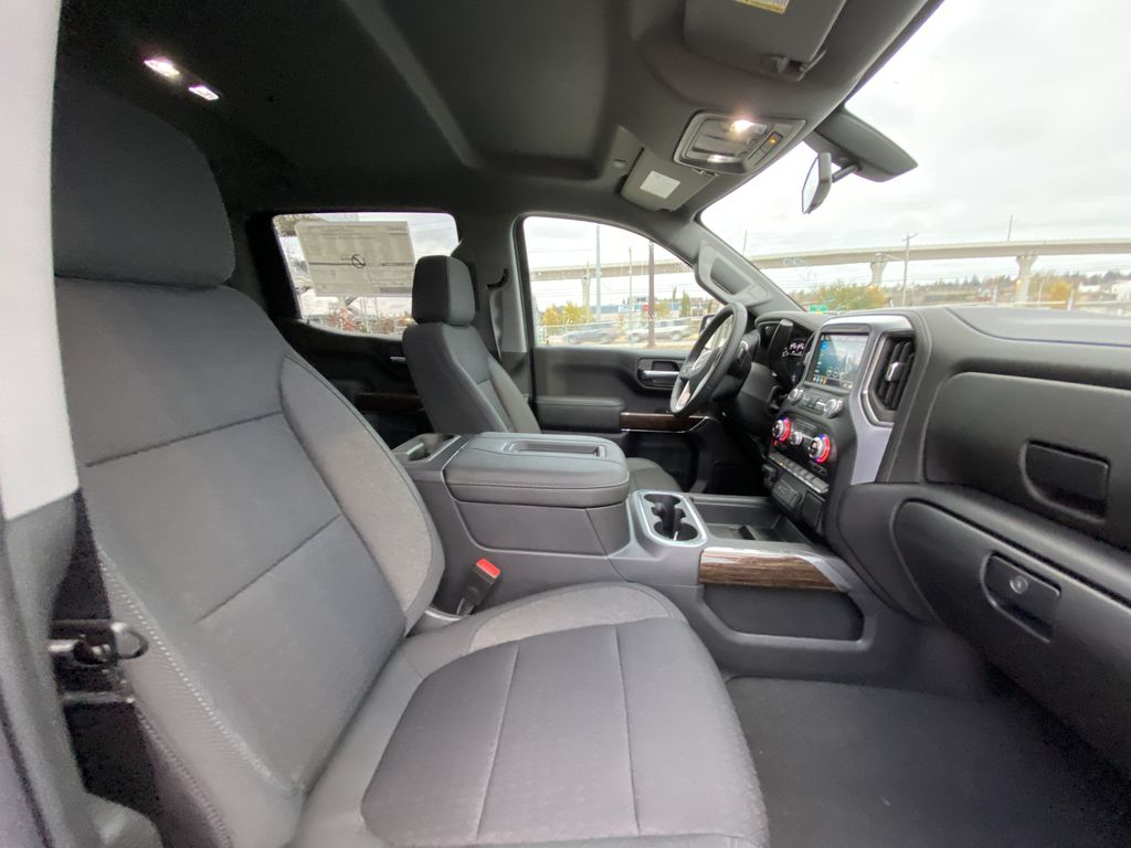 Silver[Quicksilver Metallic] 2021 GMC Sierra 1500 Elevation Right Side Front Seat  Photo in Calgary AB