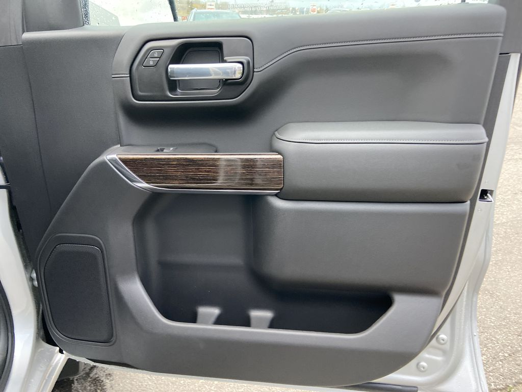 Silver[Quicksilver Metallic] 2021 GMC Sierra 1500 Elevation Right Front Interior Door Panel Photo in Calgary AB