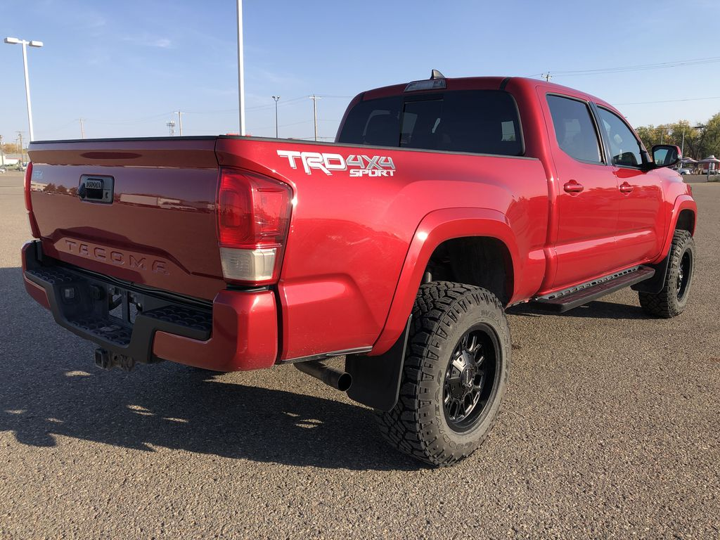 Red 2017 Toyota Tacoma TRD SPORT *Heated Seats* *Lifted* Right Rear Corner Photo in Brandon MB