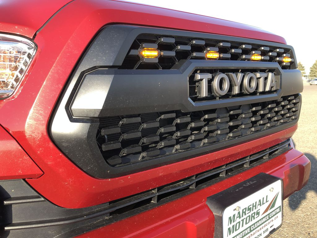 Red 2017 Toyota Tacoma TRD SPORT *Heated Seats* *Lifted* Left Front Head Light / Bumper and Grill in Brandon MB
