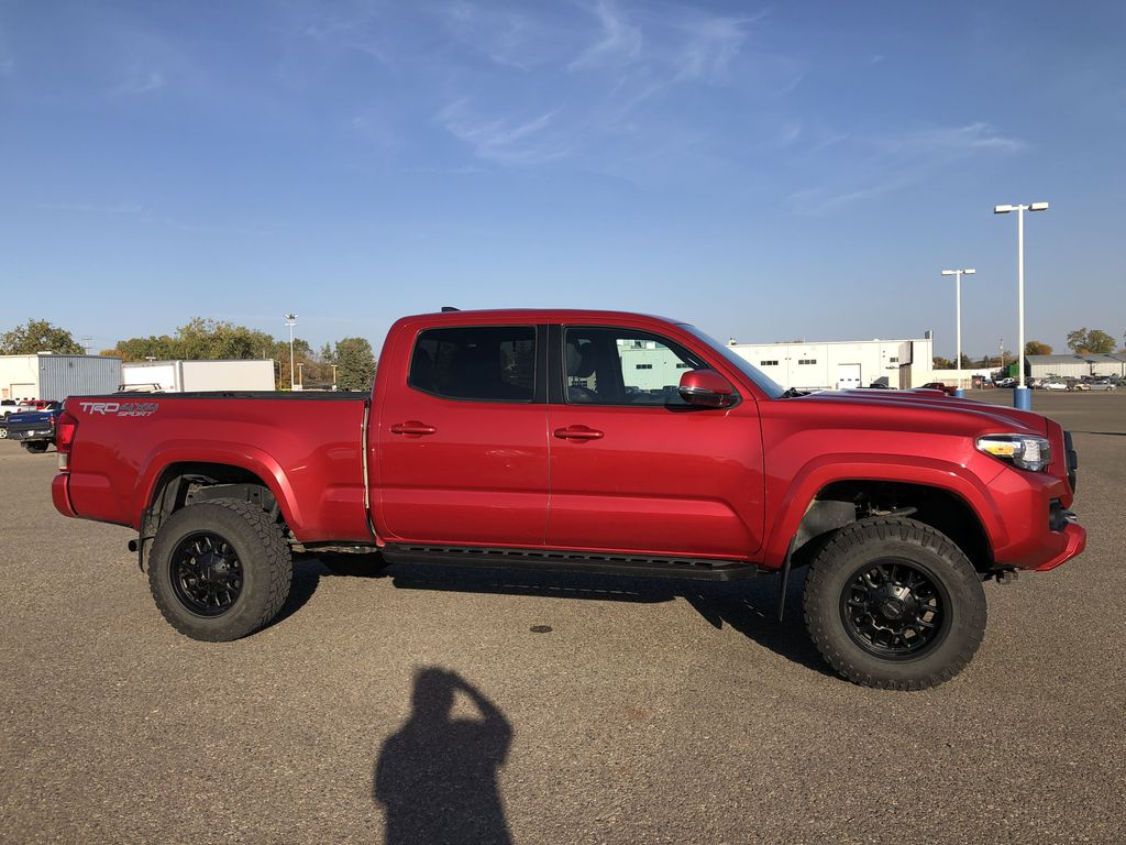 Red 2017 Toyota Tacoma TRD SPORT *Heated Seats* *Lifted* Right Side Photo in Brandon MB