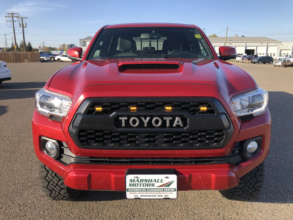 Red 2017 Toyota Tacoma TRD SPORT *Heated Seats* *Lifted* Front Vehicle Photo in Brandon MB