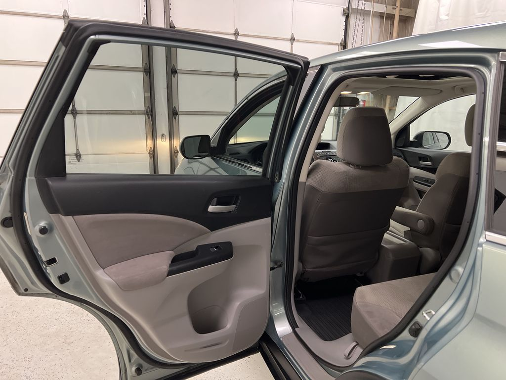 Blue[Twilight Blue Metallic] 2012 Honda CR-V Left Rear Interior Door Panel Photo in Dartmouth NS