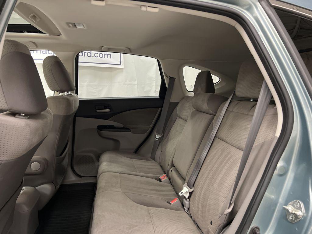 Blue[Twilight Blue Metallic] 2012 Honda CR-V Left Side Rear Seat  Photo in Dartmouth NS