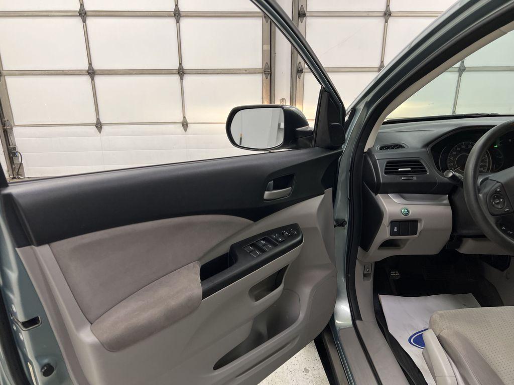 Blue[Twilight Blue Metallic] 2012 Honda CR-V Left Front Interior Door Panel Photo in Dartmouth NS