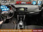 Silver[Alloy Silver] 2016 Mitsubishi Lancer SE LTD - Heated Seats, Backup Camera, Sunroof Central Dash Options Photo in Winnipeg MB