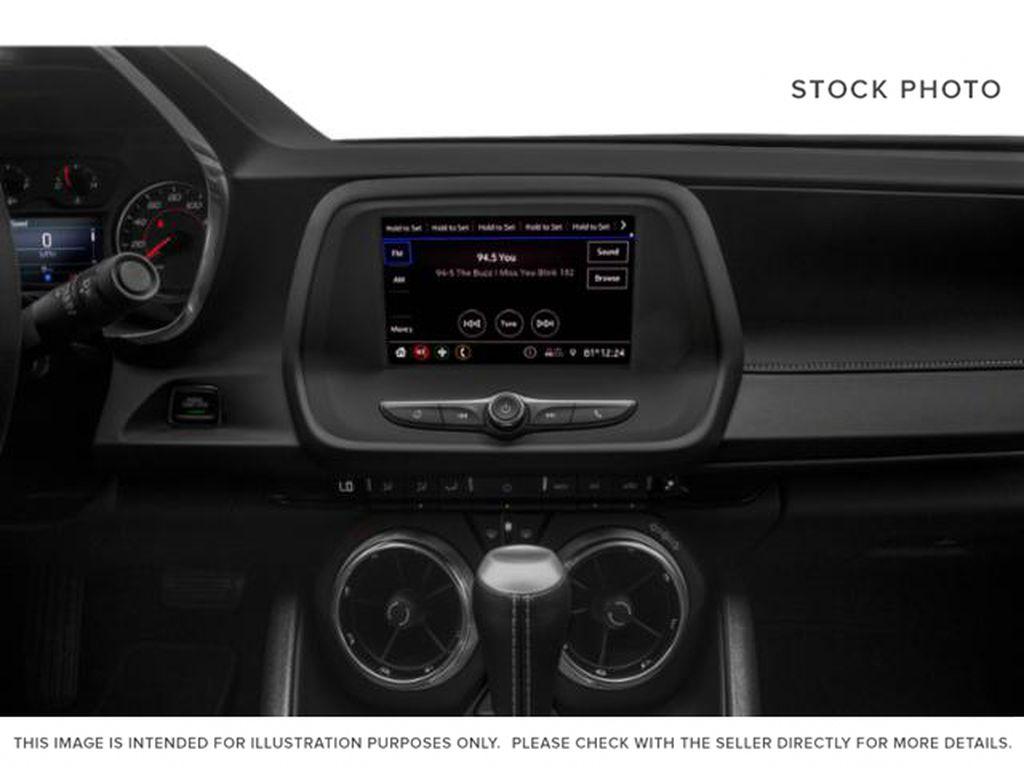 2021 Chevrolet Camaro Radio Controls Closeup Photo in Barrhead AB
