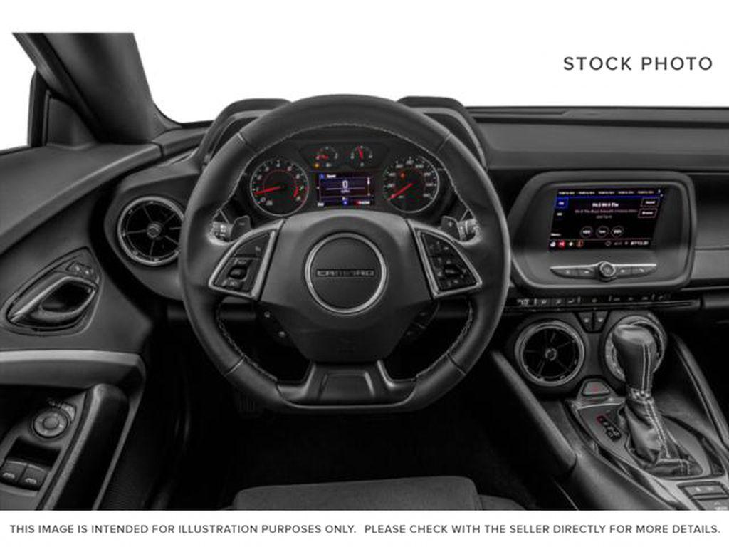 2021 Chevrolet Camaro Steering Wheel and Dash Photo in Barrhead AB