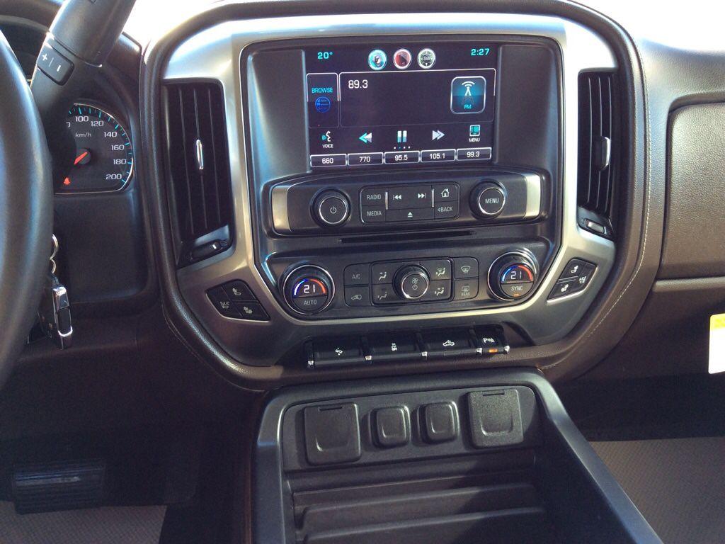 Grey 2015 Chevrolet Silverado 1500 Radio Controls Closeup Photo in Westlock AB
