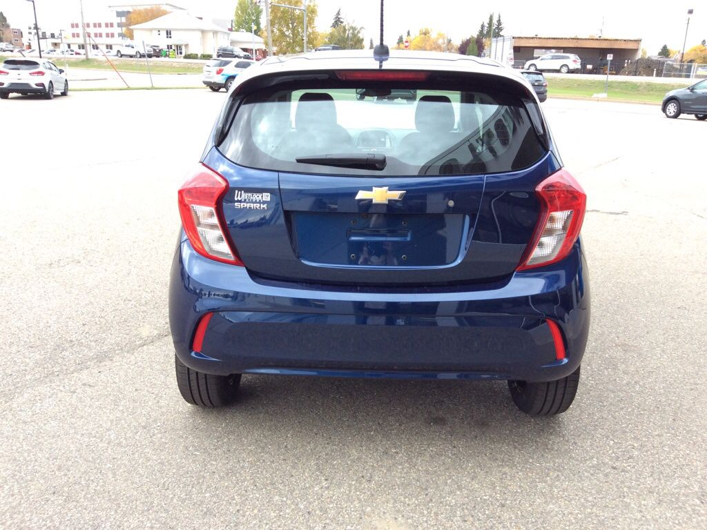 Blue 2022 Chevrolet Spark Driver's Side Door Controls Photo in Westlock AB