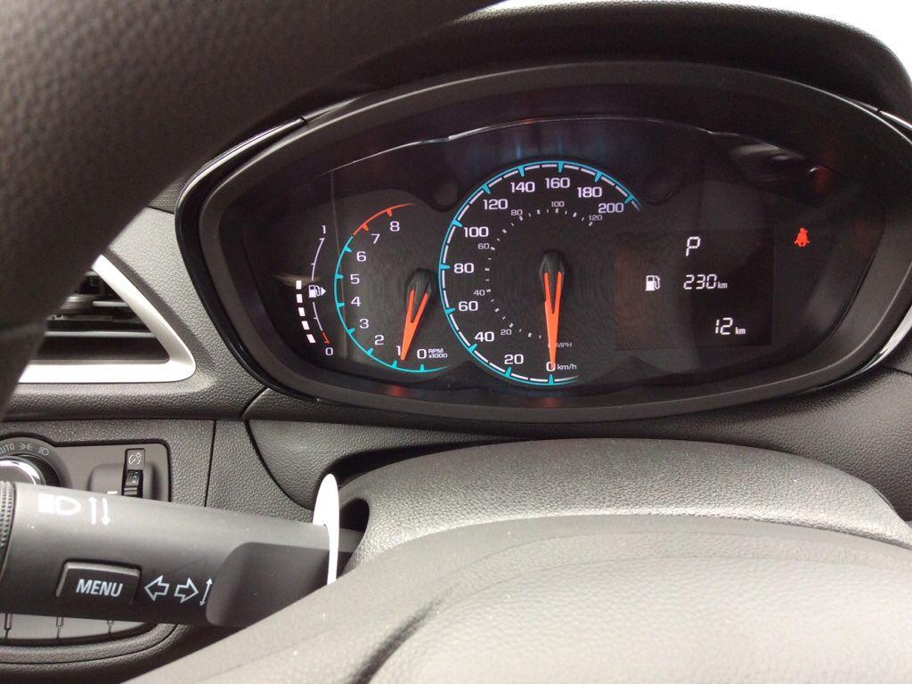 Blue 2022 Chevrolet Spark Odometer Photo in Westlock AB