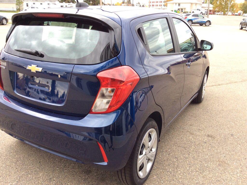 Blue 2022 Chevrolet Spark Left Front Interior Photo in Westlock AB