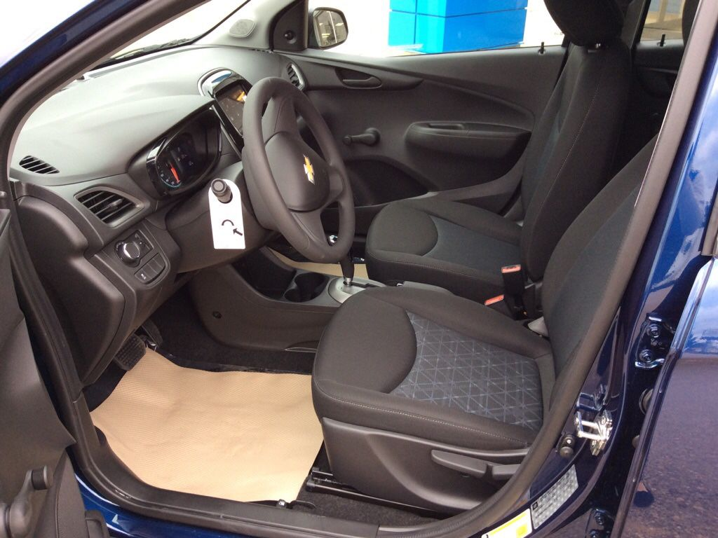 Blue 2022 Chevrolet Spark Left Rear Interior Door Panel Photo in Westlock AB