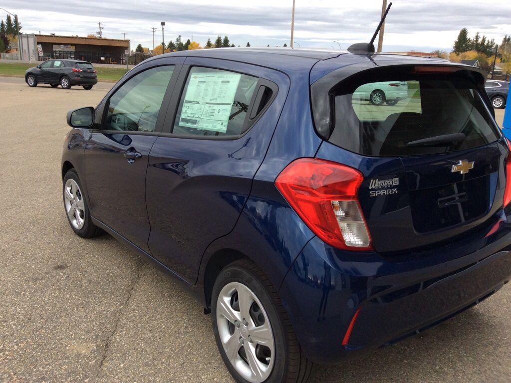 Blue 2022 Chevrolet Spark Left Front Interior Door Panel Photo in Westlock AB