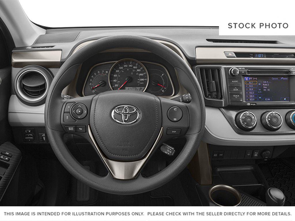 2014 Toyota RAV4 Steering Wheel and Dash Photo in Medicine Hat AB