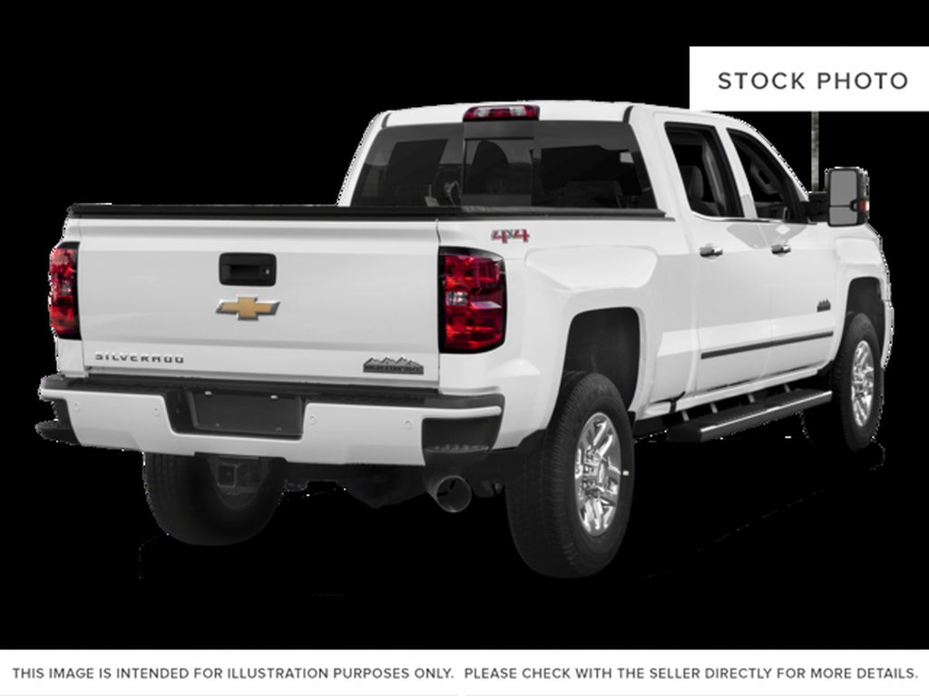 White[Iridescent Pearl Tricoat] 2018 Chevrolet Silverado 3500HD Right Rear Corner Photo in Fort Macleod AB