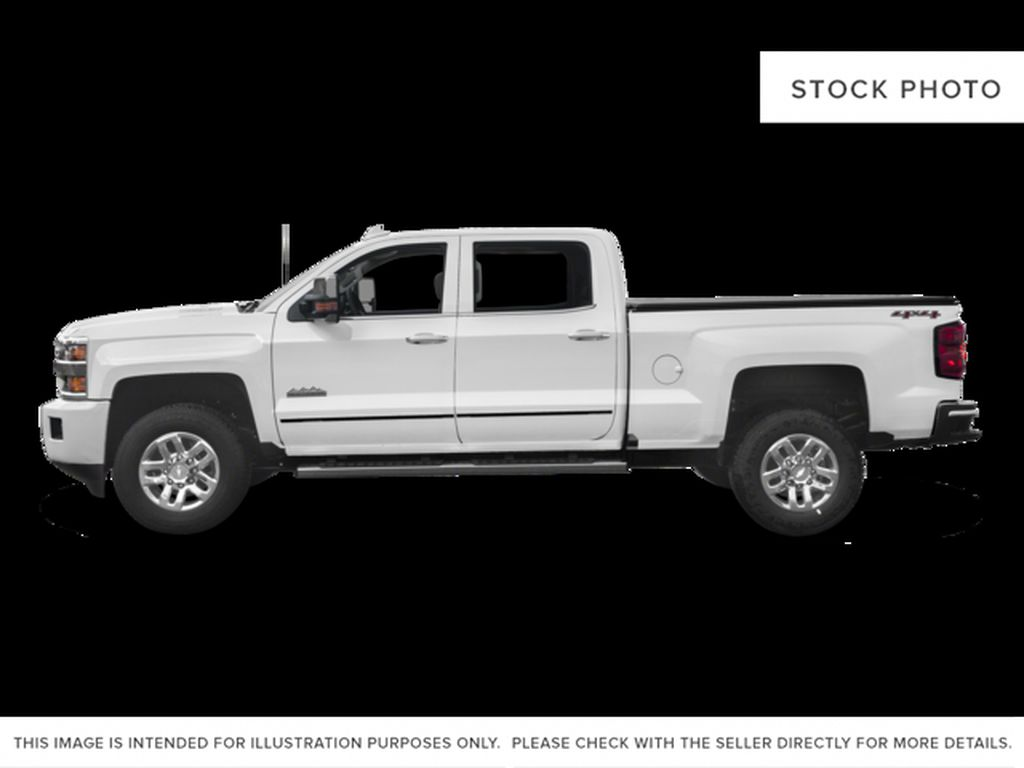 White[Iridescent Pearl Tricoat] 2018 Chevrolet Silverado 3500HD Left Side Photo in Fort Macleod AB