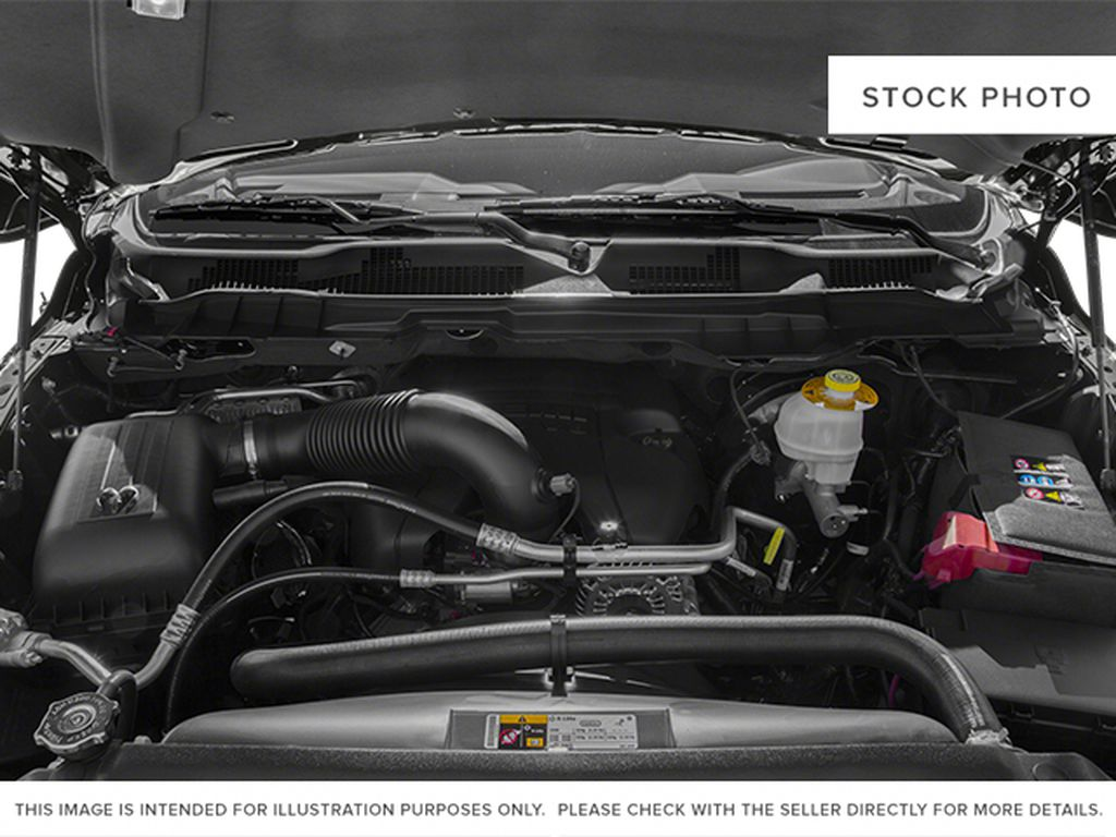 Red[Deep Cherry Red Crystal Pearlcoat] 2014 Ram 1500 Engine Compartment Photo in Fort Macleod AB