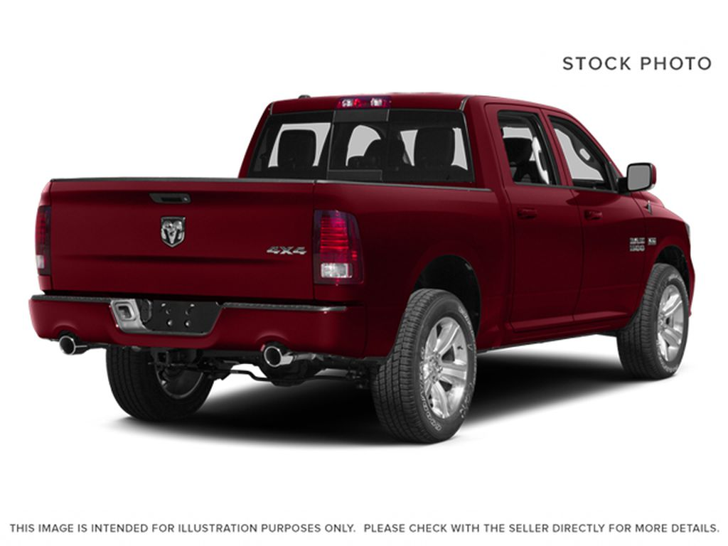 Red[Deep Cherry Red Crystal Pearlcoat] 2014 Ram 1500 Right Rear Corner Photo in Fort Macleod AB