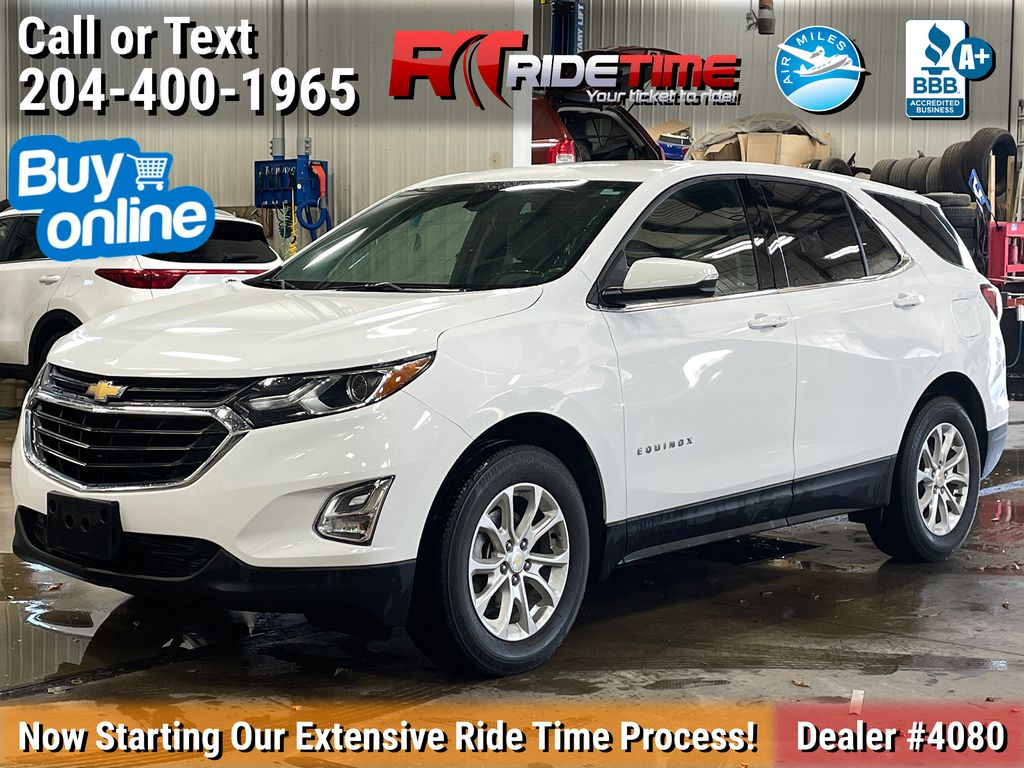 White[Iridescent Pearl Tricoat] 2019 Chevrolet Equinox LT AWD - Remote Start, Heated Seats, Bluetooth