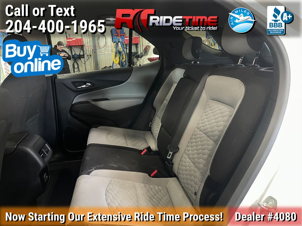 White[Iridescent Pearl Tricoat] 2019 Chevrolet Equinox LT AWD - Remote Start, Heated Seats, Bluetooth Left Side Rear Seat  Photo in Winnipeg MB